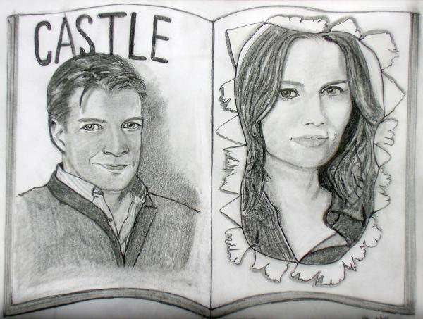 Nathan Fillion, Stana Katic by ritu